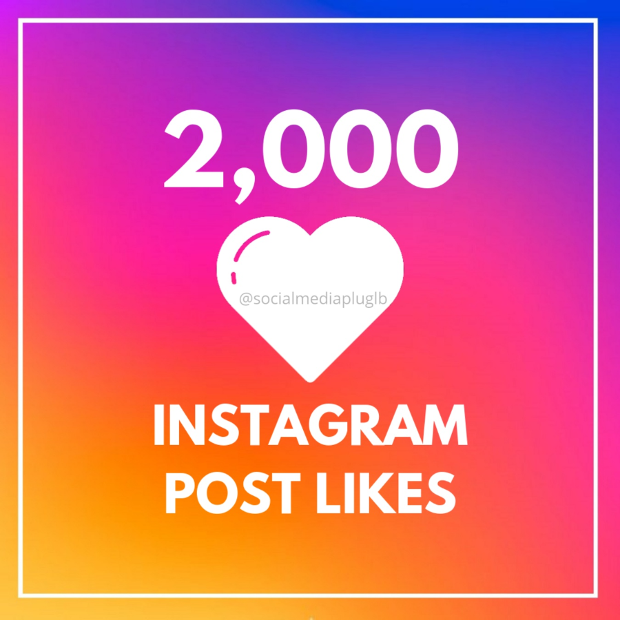 2000 Instagram Post Likes (HQ)