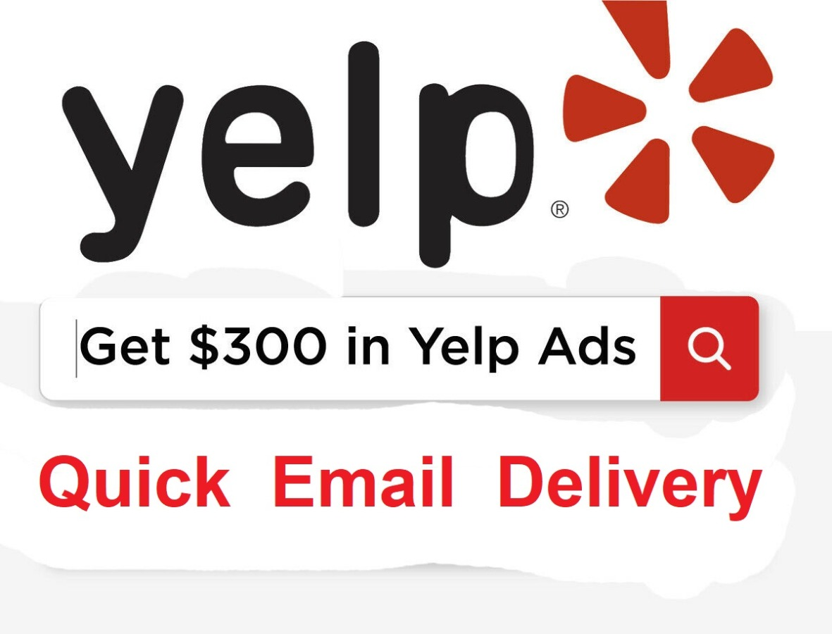Yelp Ads $300 Credit Coupon Code For Advertising
