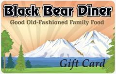 $100 Black Bear Diner Gift Card
