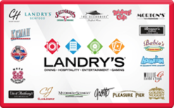$100 Landry's Restaurants Gift Card
