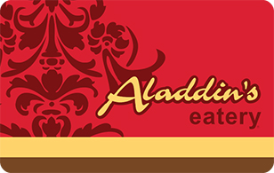 Aladdin's Eatery Gift Cards $25
