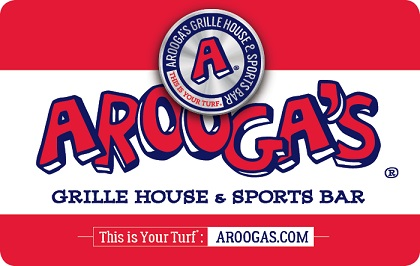 Aroogas Gift Card $25-$30