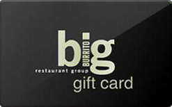 Big Burrito Restaurant Group Gift Card $50