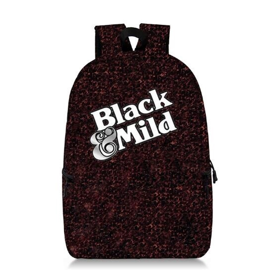 Black and Mild Logo Custom Made Backpack Clothing