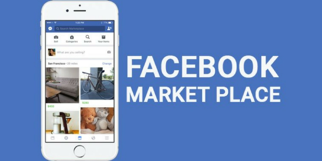 FACEBOOK USA MARKETPLACE OLD HQ ACC 500+ FRIENDS