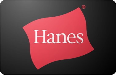 Hanes Brands Gift Card $20-$30