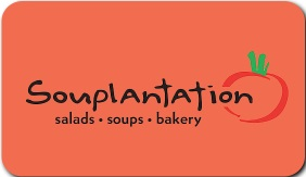 Souplantation Gift Card $20-$30
