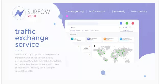 Surfow V6  - Traffic Exchange Service