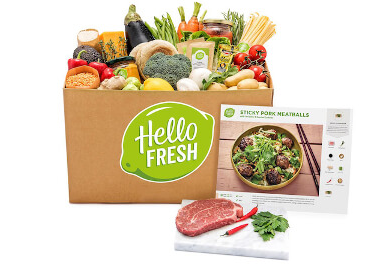 $105 HelloFresh coupon - One week of meals for four