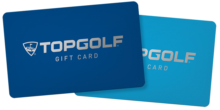 Top Golf Gift Card $50.00