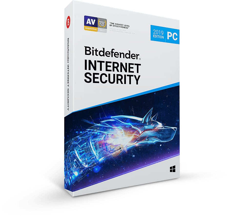 Bitdefender Internet Security 2019-2020 - 6 Months/3 PC