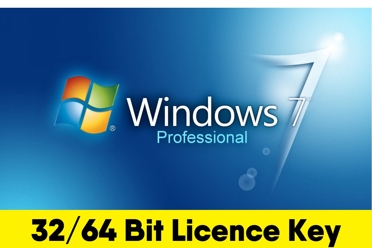 Windows 7 Professional Product Key - 32/64 Bits