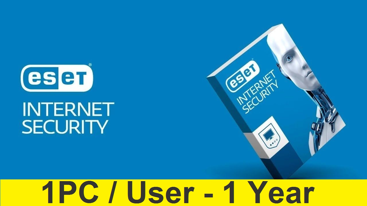 ESET INTERNET SECURITY 2019/2020 - 1 PC/1 YEAR