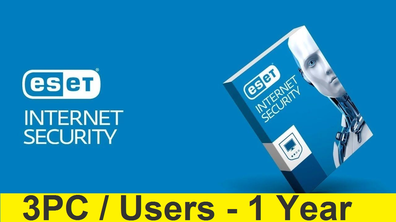 ESET INTERNET SECURITY 2019/2020 - 3 PC/1 YEAR
