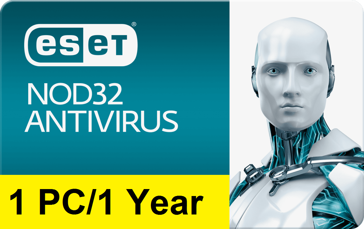 Eset Nod32 Antivirus V12 2019 - 1 Year/1 PC Key Global