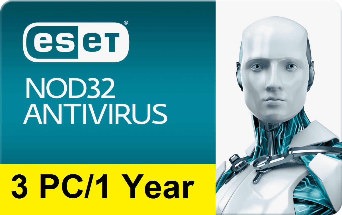 Eset Nod32 Antivirus V12 2019 – 1 Year/3 PC Key Gl...