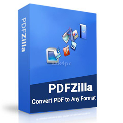 PDFZilla Convert PDF 3 2019 Pro Lifetime key Digital