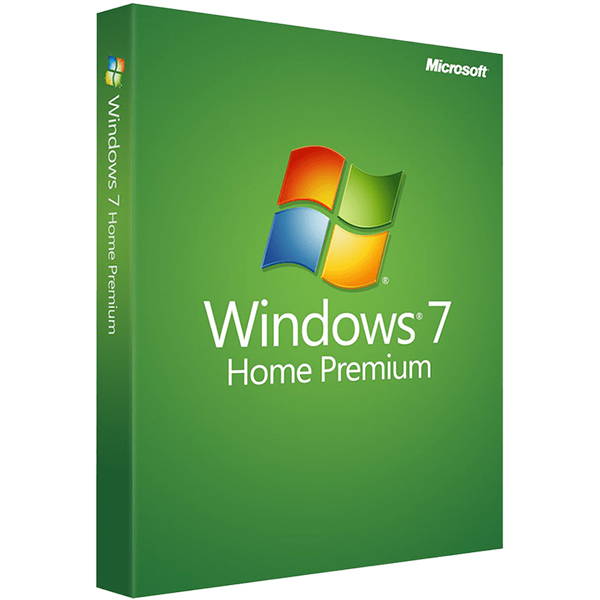 Windows 7 Home Premium SP1 64BIT/32BIT Full-Version