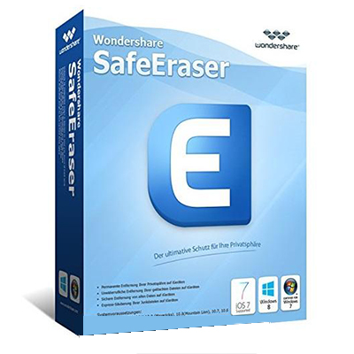 Wondershare SafeEraser Full Version Lifetime License
