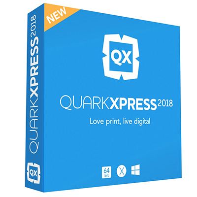QuarkXPress 2018 for MAC + Updates Lifetime Digital