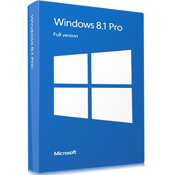 Microsoft Windows 8.1 Pro Digital Download 1 PC