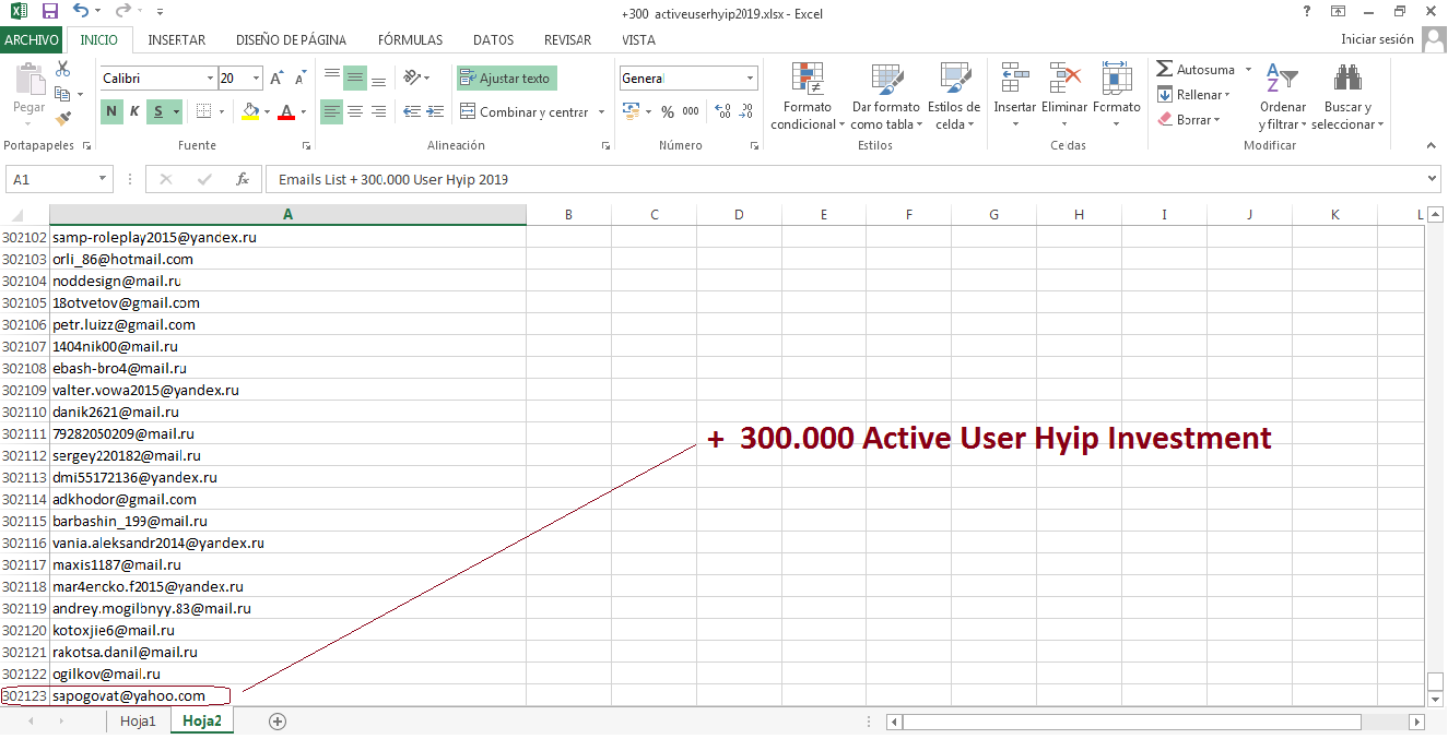 + 300.000 active users of HYIP Investment