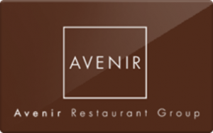 Avenir $150 gift card for food
