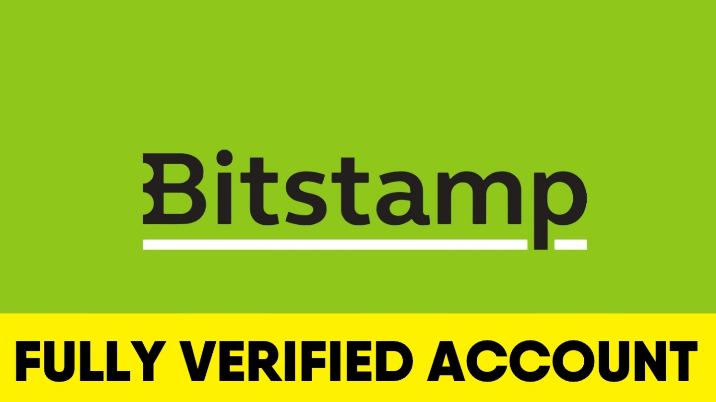 Fully Verified Bitstamp account
