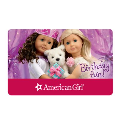 American Girl - Gift Card w valid PIN! - $150 for $90