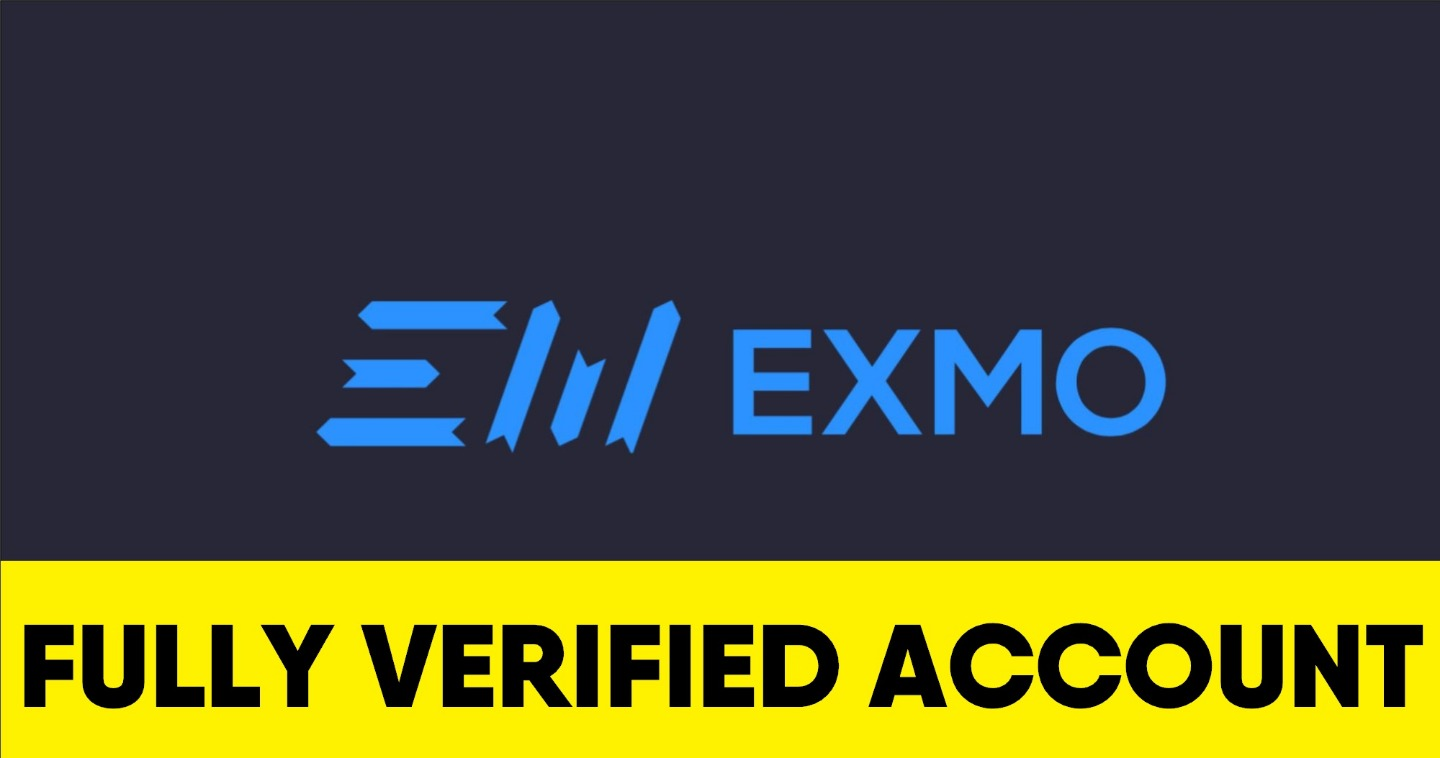 Exmo fully verified account (RU) - $130