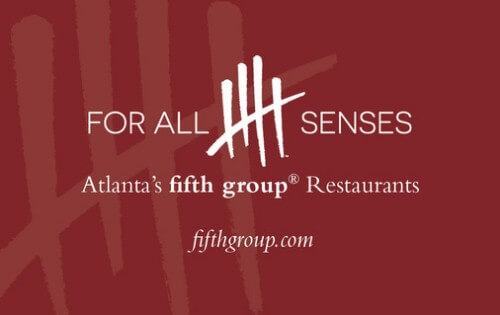 Fifth Group Restaurants Gift Card $100