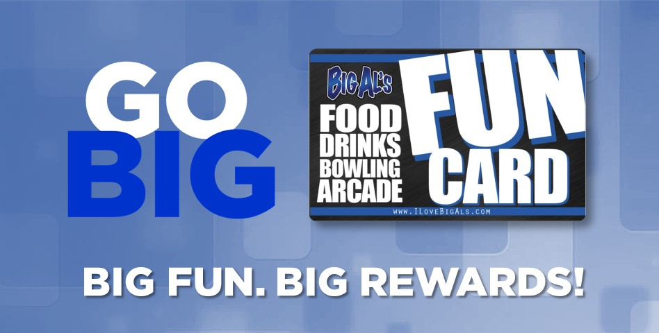I Love Big Al's -Beaverton- Fun Card Cash Balance $100
