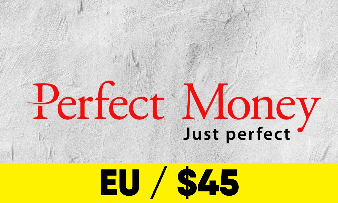 Fully Verified Perfect Money account – EU info