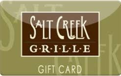 Salt Creek Grille Gift Card $50