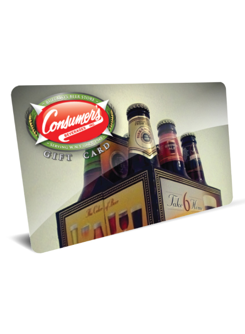 Consumer Beverages - BEER - $100 Gift Card