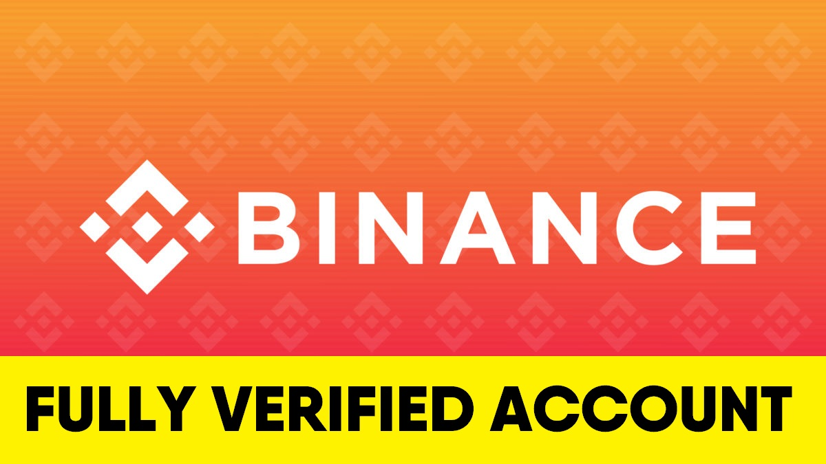Binance fully verified account (RU) - $120