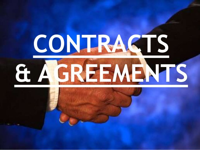 500 Contracts, Agreements German, English -each only $5