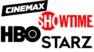 SHOWTIME + HBO + CINEMAX + STARZ (through DirecTV)