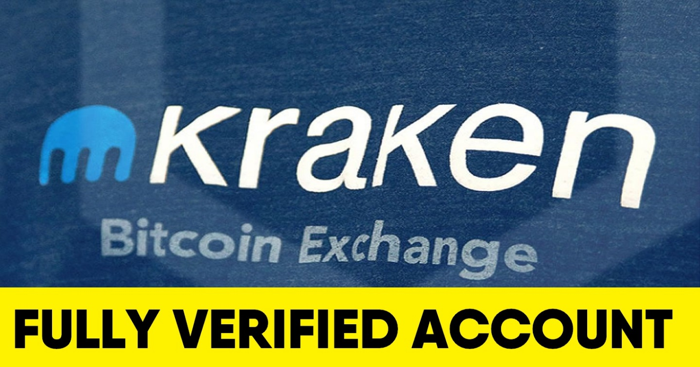 Kraken fully verified account (RU) - Intermediate - $52