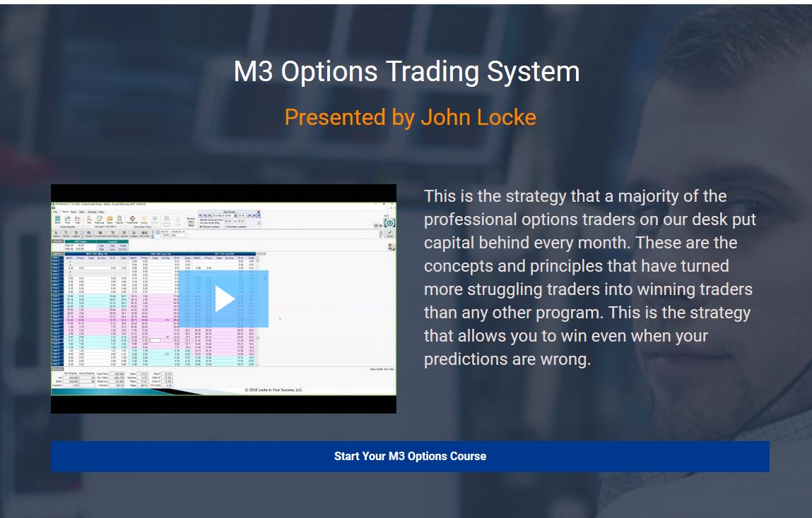 SMB Training – John Locke – The M3 Trading System