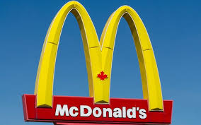 Mcdonalds Canada Card attached