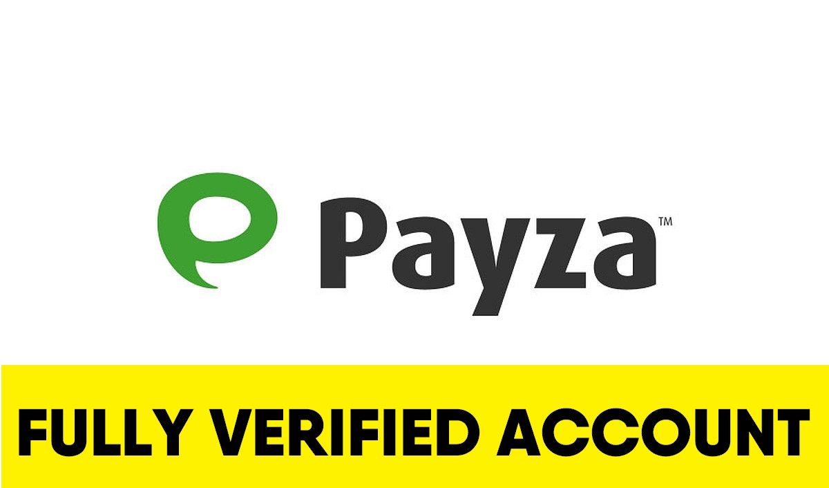 Fully Verified Payza account