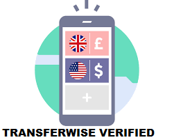 Europe/UK/USA Transferwise account business/personal