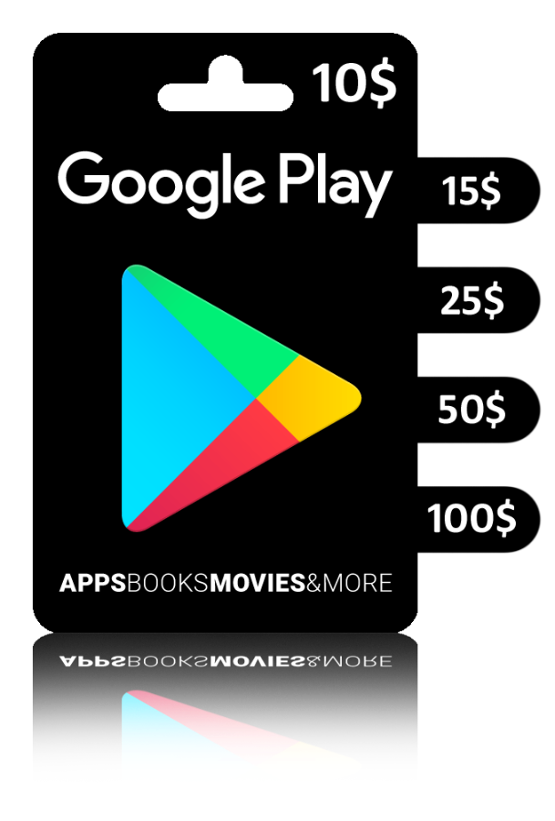 Google Play Gift Card US — 25$