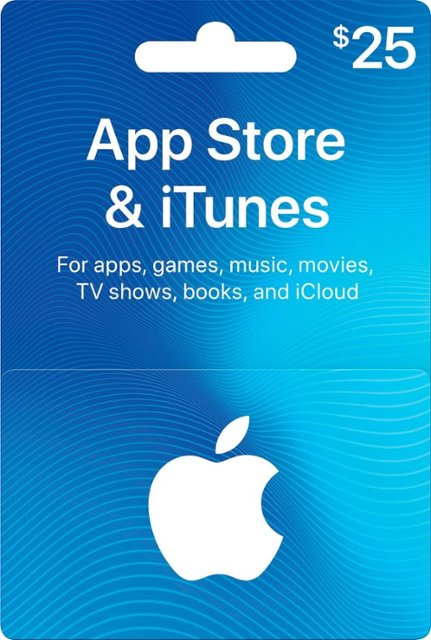 App Store & iTunes Gift Card US — 25$