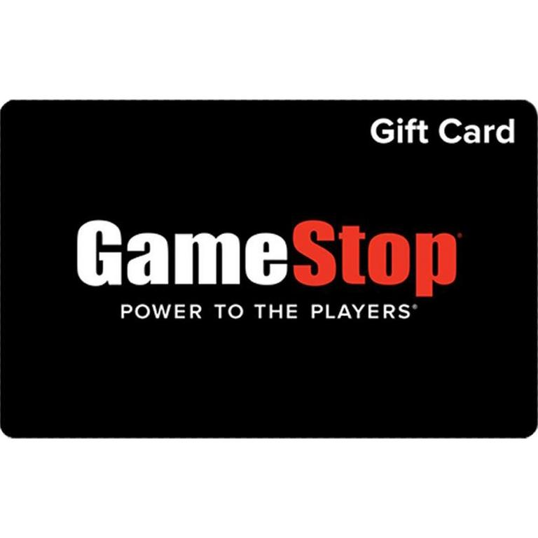 GameStop Gift Card US — 50$