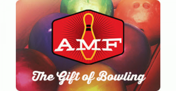 $50 AMF Bowling Gift card