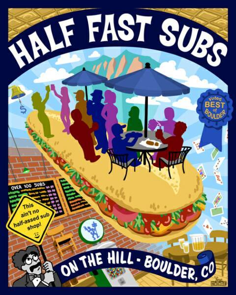 Half Fast Subs $25 gc w/ pin INSTANT DELIVERY