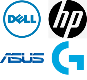HP Serial + Dell Serial + Asus Serial + Logitech Serial
