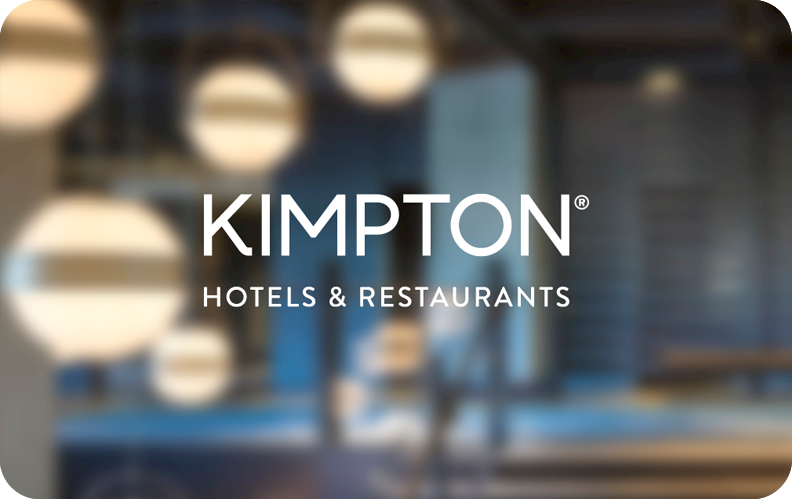 kimptonhotels.com egift 100$ luxury travel